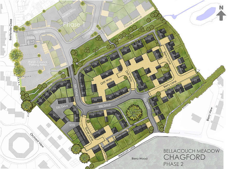 Chagford Phase 2 sites sales plan