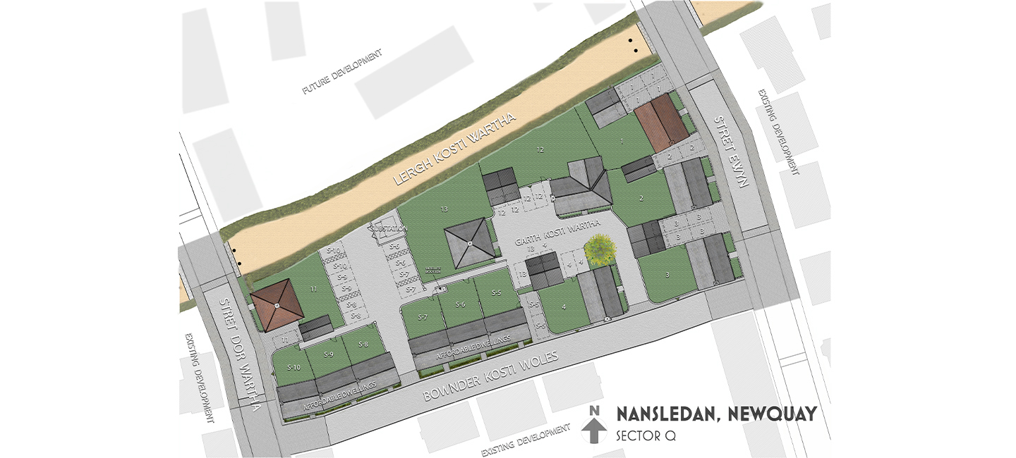 Nansledan Sector Q sales plan