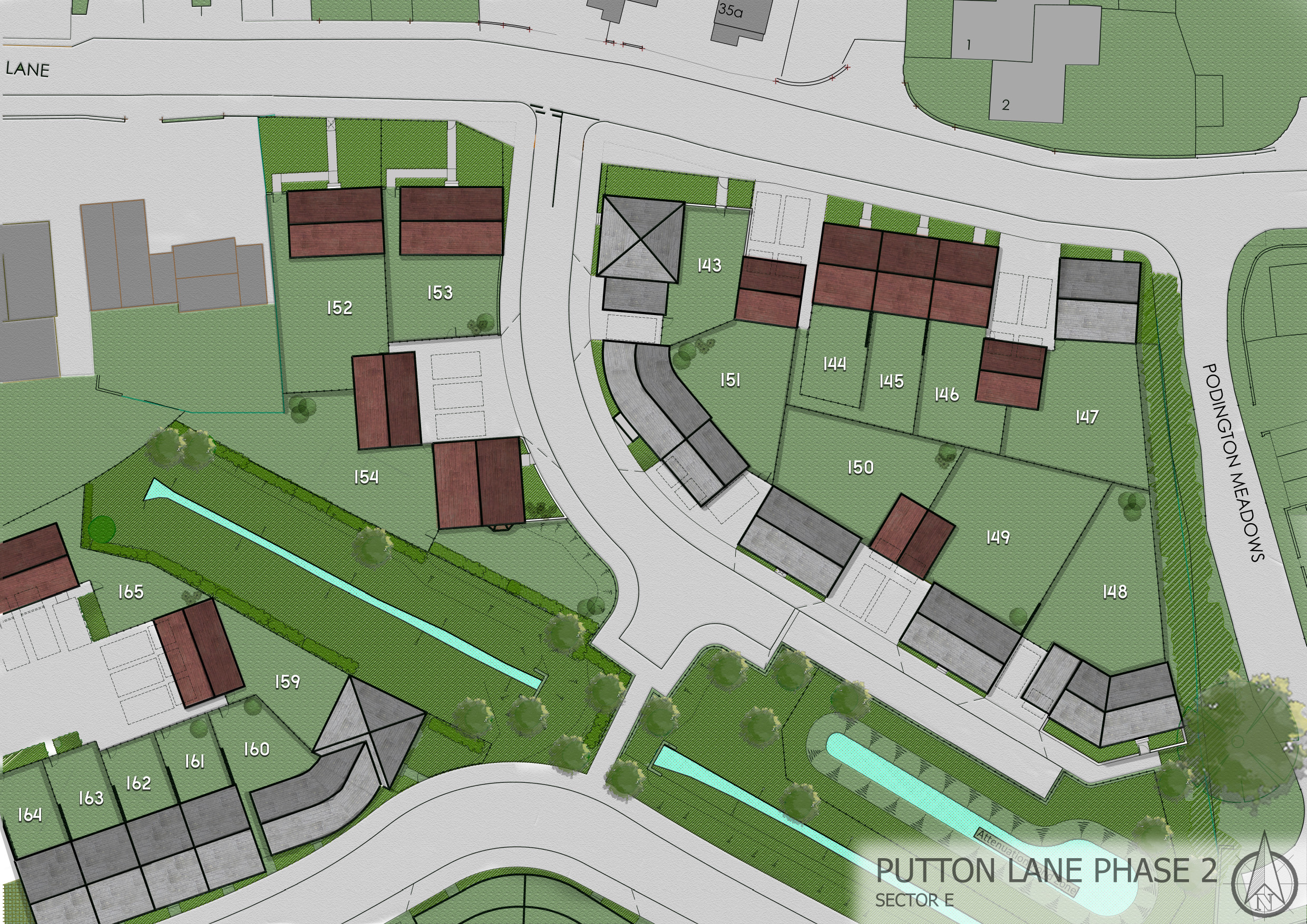 putton lane phase 2 sector E site plan